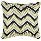 Lightning Linen Throw Pillow Color: Green