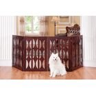 Claudia Dog Gate Size: 36'' H x 96'' W x 0.75'' D