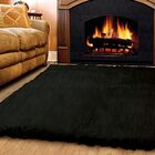 Meyers Wool Black Area Rug Rug Size: 8' x 10'