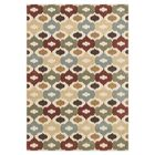 Schiess Red/Beige Area Rug Rug Size: Rectangle 3'10