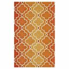Hannah Handmade Hooked Sunset Indoor/Outdoor Area Rug Rug Size: Rectangle 3'6