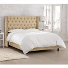 Tessa Upholstered Panel Bed Size: California King