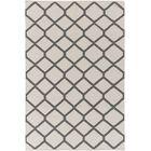 Murphree Ivory & Gray Area Rug Rug Size: Rectangle 9' x 12'