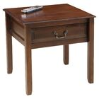 Delano End Table Color: Brown Mahogany