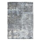 Bengta Hand-Knotted Blue/Gray Area Rug Rug Size: 8'3