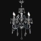 Koome 4-Light Candle Style Chandelier Crystal Color: Chrome