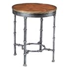 Brass Band End Table