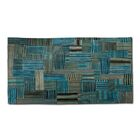 Doublesided Hand Woven Wool Area Rug