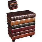 Florentine Books End Table