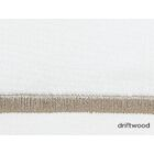 Boutique 200 Thread Count 100% Cotton Flat Sheet Color: Driftwood, Size: Twin XL Fitted