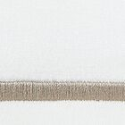 Concerto 420 Thread Count Flat Sheet Color: Driftwood, Size: King
