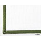 Pique Tailored Cotton Boudoir/Breakfast Pillow Color: Green