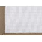Pique Tailored Cotton Bed Skirt Color: Linen, Size: Full