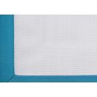 Pique Tailored Cotton Bed Skirt Color: Aqua, Size: Full