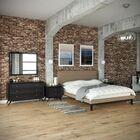 Bethany Queen Platform 4 Piece Bedroom Set Color: Latte