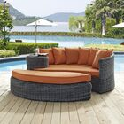 Keiran Daybed with Cushions Fabric: Tuscan