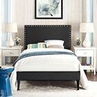 Preiss Upholstered Platform Bed Size: King, Color: Black