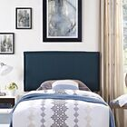 Sardina Upholstered Panel Headboard Size: Full, Upholstery: Azure