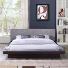 Rennan Queen Upholstered Platform Bed Color: Cappuccino Gray