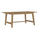Bremen Teak Dining Table Table Top Size: 30