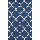 Bangor Navy Geometric Area Rug Rug Size: Rectangle 10' x 14'