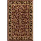 Plemmons Red Area Rug Rug Size: Rectangle 9' x 13'