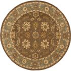 Plemmons Brown Area Rug Rug Size: Round 6'