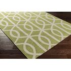 Gingrich Moss/Ivory Area Rug Rug Size: Rectangle 5' x 7'6