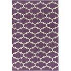 Ayles Light Purple/Ivory Area Rug Rug Size: Rectangle 9' x 12'