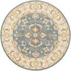 Mckelvey Handmade Blue Area Rug Rug Size: Round 8'