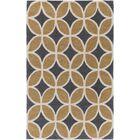 Kroeker Sand/Charcoal Area Rug Rug Size: Rectangle 5' x 7'6