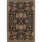 Philips Black Area Rug Rug Size: Rectangle 8' x 11'