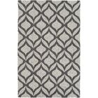 Mowrey Hand-Tufted Gray Area Rug Rug Size: Rectangle 5' x 8'