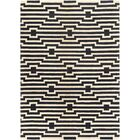 Zeitz Hand-Tufted Navy Area Rug Rug Size: Rectangle 6' x 9'