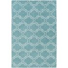 Shandi Hand-Tufted Light Blue Area Rug Rug Size: Rectangle 4' x 6'