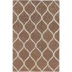 Bronaugh Hand-Tufted Brown Area Rug Rug Size: Rectangle 6' x 9'