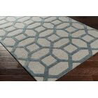 Wyble Hand-Tufted Blue Area Rug Rug Size: Runner 2'3