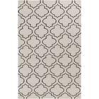 Aylesworth Ivory/Gray Area Rug Rug Size: Rectangle 9' x 12'
