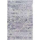 Dilorenzo Hand-Tufted Slate Gray/Beige Area Rug Rug Size: Rectangle 5' x 8'