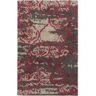 Dilorenzo Hand-Tufted Brown/Burgundy Area Rug Rug Size: Rectangle 5' x 8'