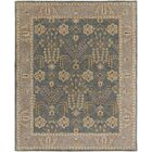 Henriksen Hand-Crafted Slate/Beige Area Rug Rug Size: Rectangle 5' x 8'
