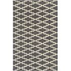 Lococo Hand-Tufted Gray/Ivory Area Rug Rug Size: Rectangle 9' x 13'
