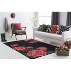 Lacasse Hand-Tufted Red Area Rug Rug Size: Rectangle 9' x 13'