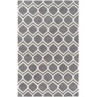 Zellner Hand-Tufted Gray/Beige Area Rug Rug Size: Rectangle 8' x 10'