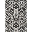 Lachapelle Black/Ivory Area Rug Rug Size: Rectangle 7'6