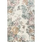 Kight Blue/Pink Area Rug Rug Size: Rectangle 8' x 10'