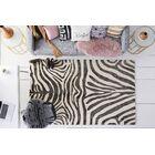 Petunia Hand Tufted Wool Black Area Rug Rug Size: 9' x 13'