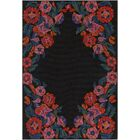 Dimaggio Hand-Tufted Poppy Red/Carnation Pink Indoor/Outdoor Area Rug Rug Size: Rectangle 4' x 6'