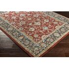 Eadie Red Area Rug Rug Size: Rectangle 5'3