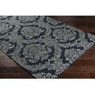 Kimmel Hand-Tufted Onyx Black/Gray Area Rug Rug Size: Rectangle 5' x 7'6